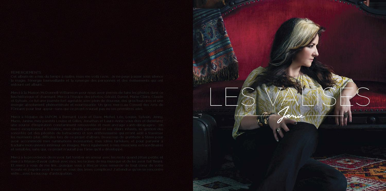 "Booklet ""Les Valises"" page 1"