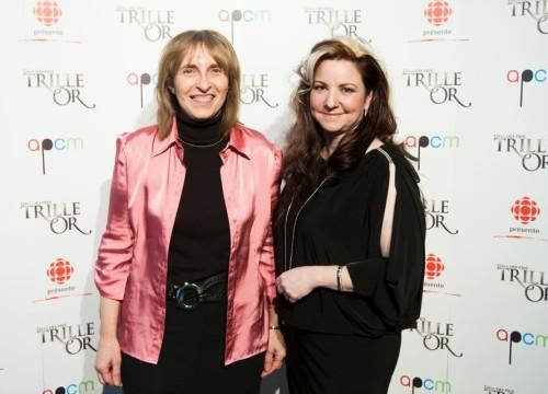 Janie et Denyse Marleau Gala Trille Or 2013