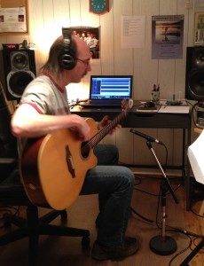 Louis en Pré-prod de l'album L'Éden est un Bazar