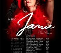 En tournée Belge Janvier et Février 2018